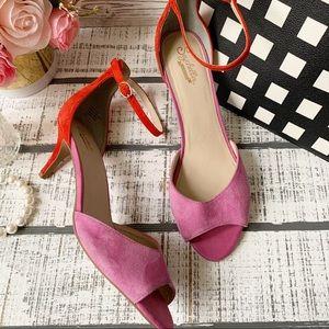 Seychelles ankle strap heels sz 10